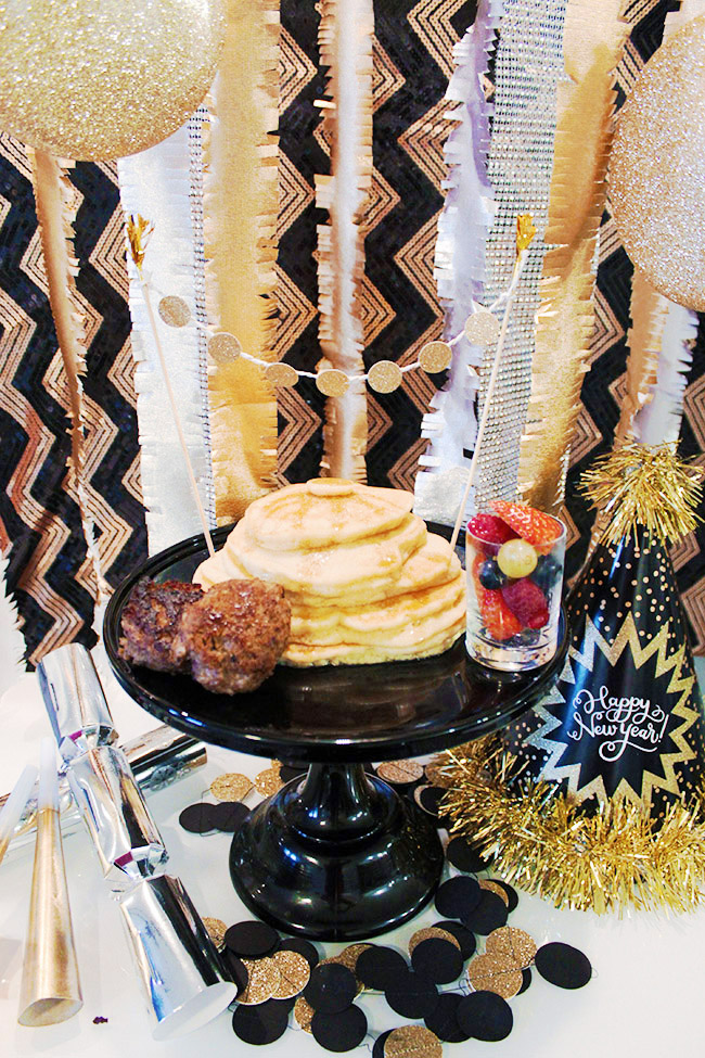 Yummy New Year's Eggnog Pancake Breakfast! - B. Lovely Events