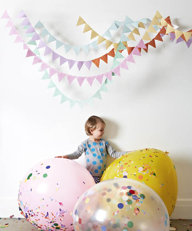 GIANT Confetti Filled Balloons!