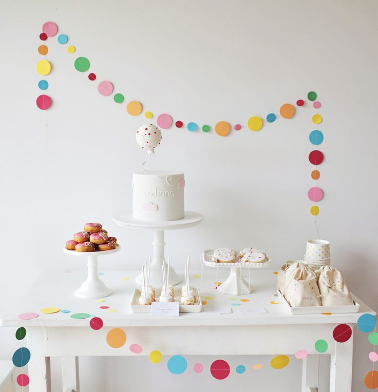 Huge Sprinkle party decor!