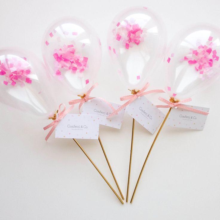 Tiny Confetti Balloons!