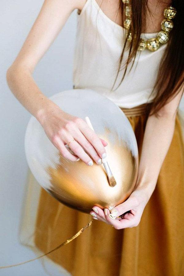 golden Globes Gold Balloons!