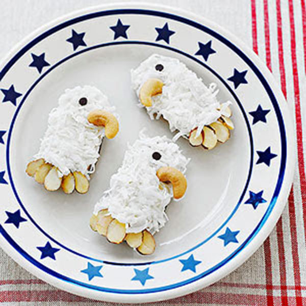 Bald Eagle America Presidents Day Cookies