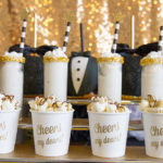 Tuxedo Black And Gold Oscar Party! {Plus Free Oscar Ballot Printable!}