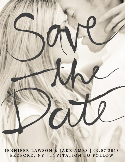 Save The date Basic Invite
