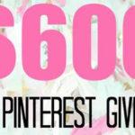 $600 Spring Giveaway!