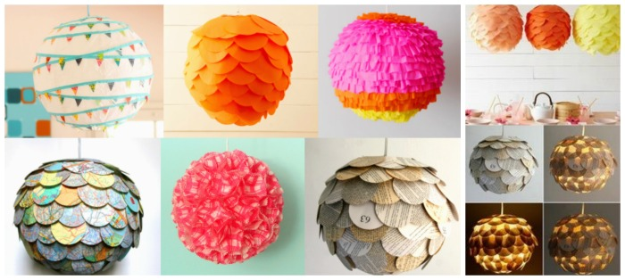 Colorful Paper Lantern Ideas For Summer Party Decorating- B. Lovely Events