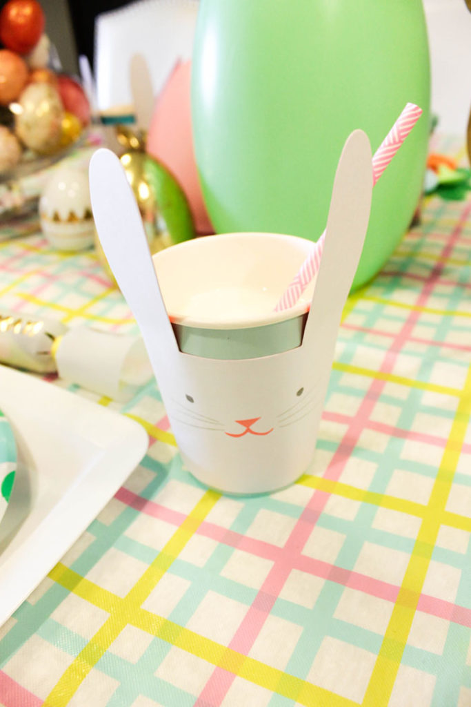 Easter Bunny Cup- SO Cute!- B. Lovely Events