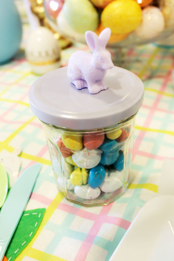 Easter Robins Egg Favors- Love The Bunny On Top- See more on B. Lovely Events