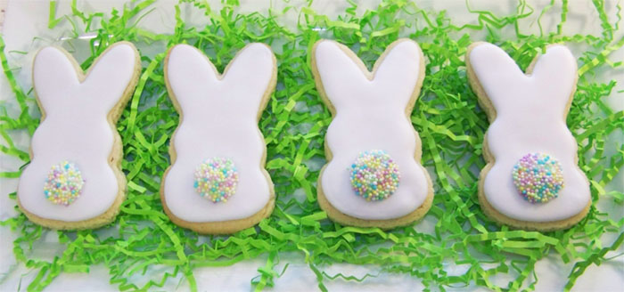 Love These Bunny Butt Cookies for Easter! - See More Easter Bunny Butt Ideas On B Lovely Events