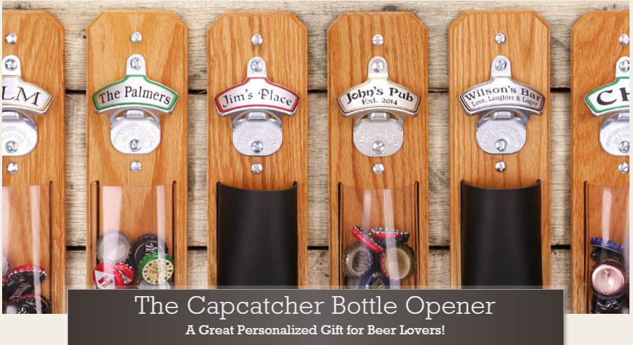 Capcatcher bottle opener - Perfect Bridal Party Gift!