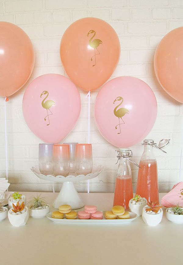 Flamingo Party Ideas- See more amazing party trends for 2016 at B. Lovely Events!