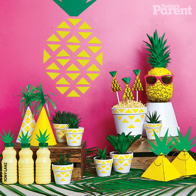 Fun Pineapple Party ideas! - See More Lovely Pineapple Party Ideas At B. Lovely Events!