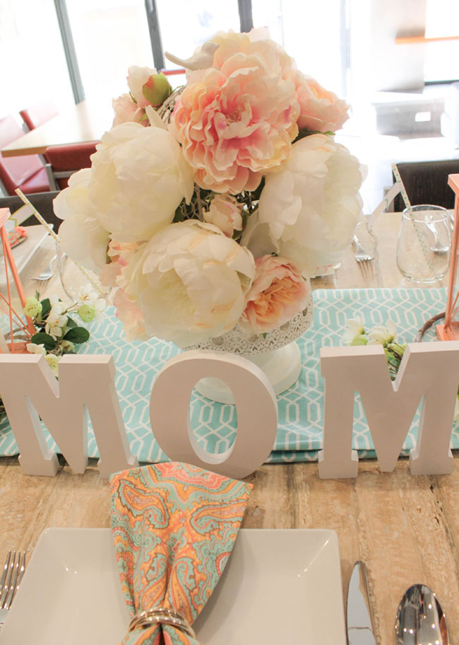 Lovely Blooming Mother's Day Peony Centerpiece - See How To Put It Together On B. Lovely Events!