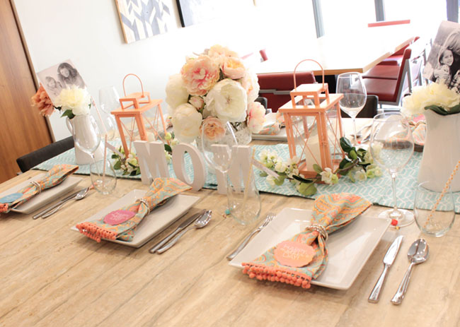 Lovely Blooming Mother's Day Tablescape- See How To Put It Together On B. Lovely Events!