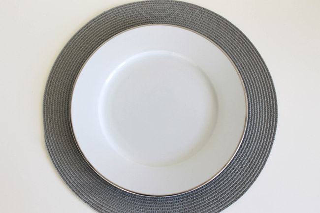 Mothers Day Place Setting Step by step