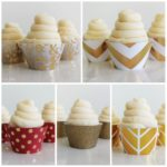 New Gold Cupcake Wrappers At B. Lovely Events Shop!
