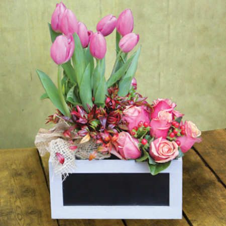 Mothers day arrangement box