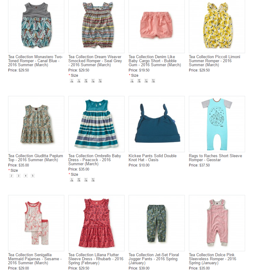 Baby Clothes From Baby Cubby