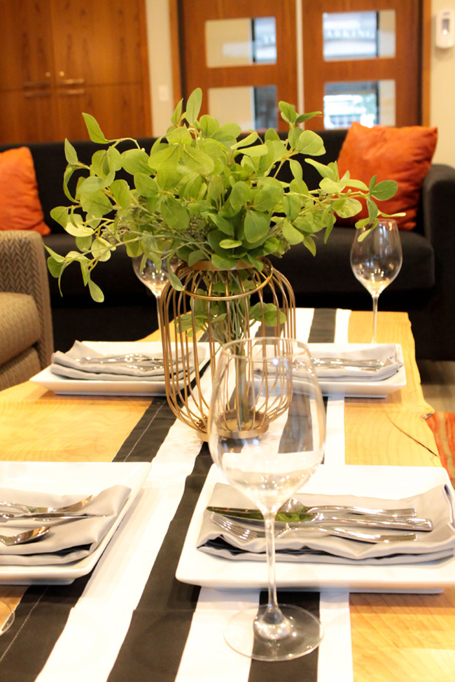 DIY Plant Centerpiece With Eucalyptus (5) -Learn How To Make Them On B. Lovely Events