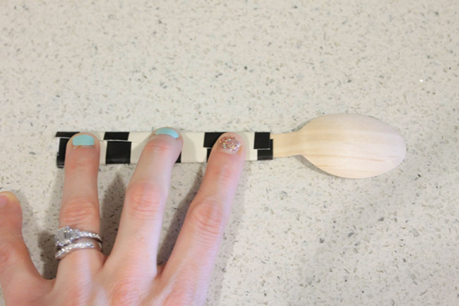 DIY Wrapped Wooden Forks And Spoons (4)