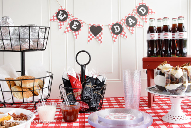 Fun Father's Day Grill Party! See more Grillin Father's Day Ideas On B. Lovely Events!