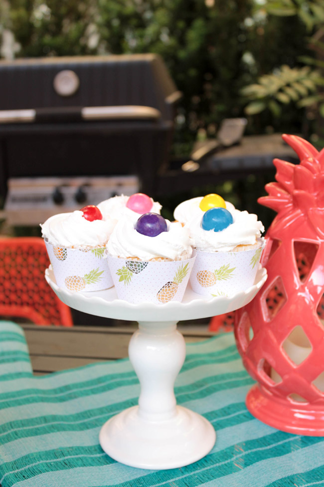 Fun Summer Cupcakes - B. Lovely Events
