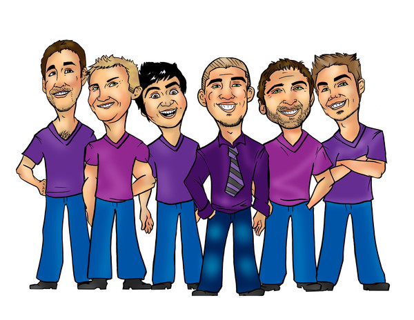 Giveaway- funny-groomsmen-caricature