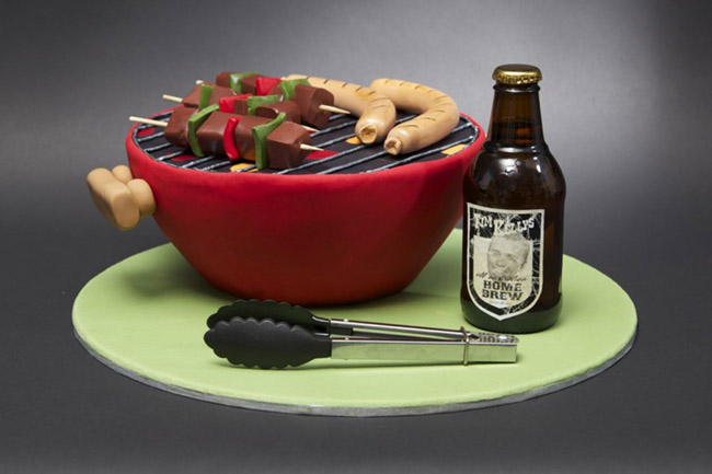 Love This Father's Day Grill Cake! -See more Grillin Father's Day Ideas On B. Lovely Events!