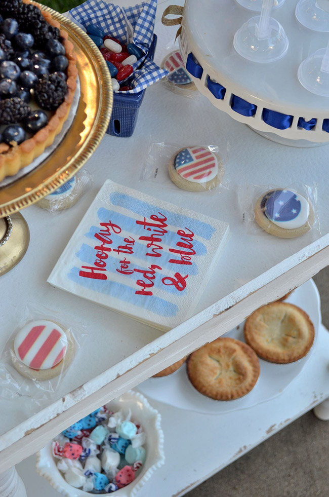 4th Of July Celebration Party -See All Of The Lovely Party Details on B. Lovely Events!