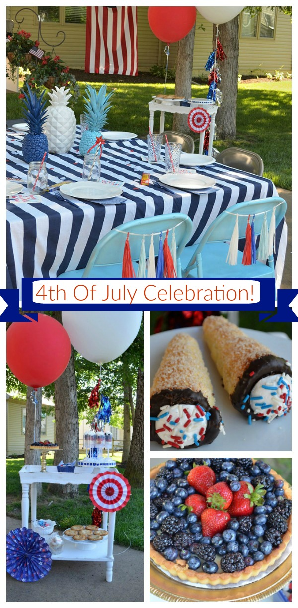 4th Of July Celebration! - See Of Of The Lovely Party Details on B. Lovely Events!