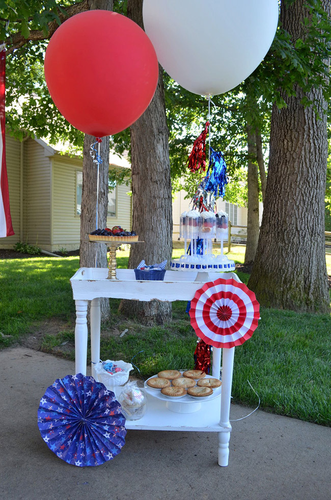 4th Of July Dessert Bar -See All Of The Lovely Party Details on B. Lovely Events!