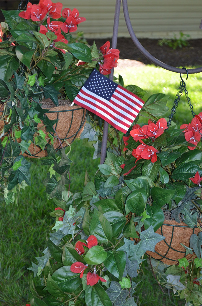 4th Of July Plants -See All Of The Lovely Party Details on B. Lovely Events!