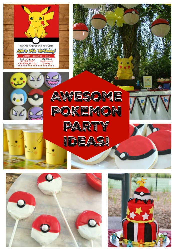 Awesome Pokemon Party Ideas! - See them all On B. Lovely Events
