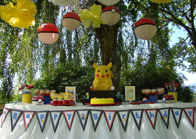 Awesome Pokemon Party! - See more cute Pokemon Party Ideas on B. Lovely Events