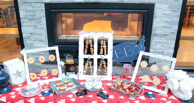 Fun Summer BBQ Decor And Food Ideas from B. Lovely Events!
