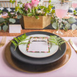Gorgeous Floral Baby Shower Place Setting
