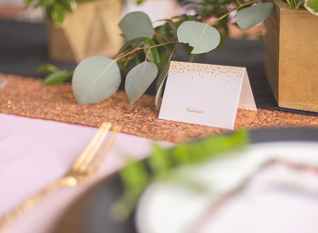 Lovely Floral baby shower place cards