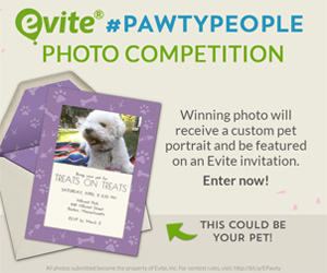 Pawty People Photo Contest- Evite