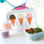 Love this cute Ice Cream lunch box- fun school supplies from Zazzle!