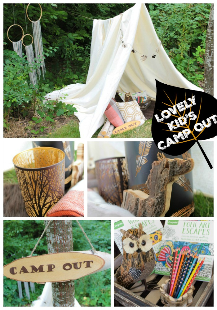 Summer Dreaming Kid's Camp Out! See All The Lovely Details On B. Lovely Events
