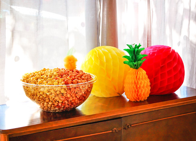 Huge Bowl of Popcorn- perfect party treat!