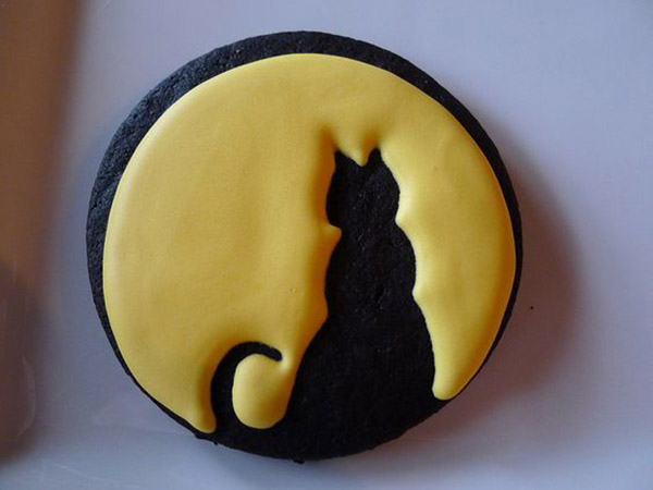 Cute Cat Silhouette Cookie