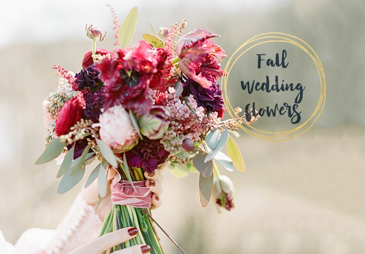 Gorgeous Fall Wedding Bouquets!