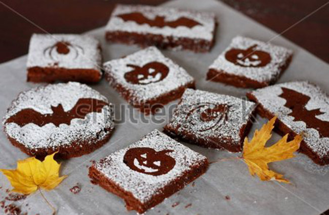 Fun Halloween Brownies