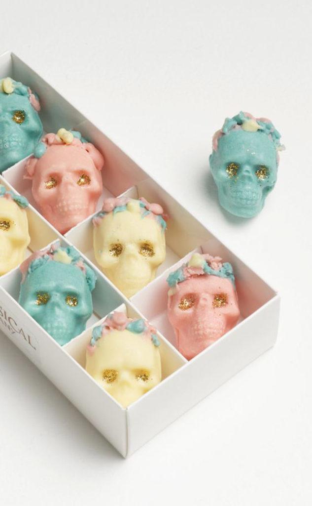 Dia De los muertos Chocolates-Whimsical Cake Company
