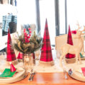 Lovely and easy Christmas Tablescape- See all of the details on B. lovely Events