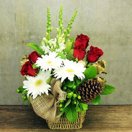 lovely Christmas Centerpiece arrangement
