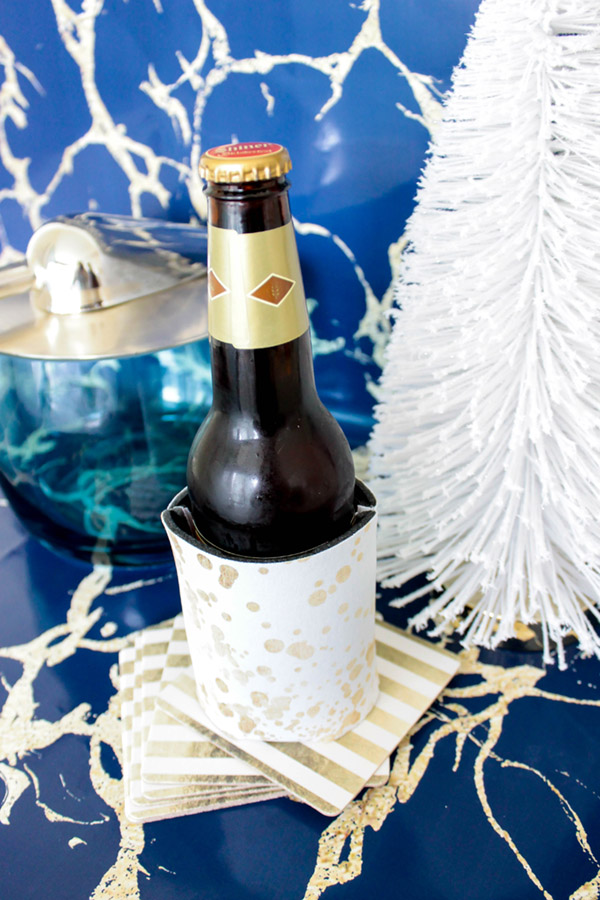 marble and gold christmas goodies- Love these as gifts