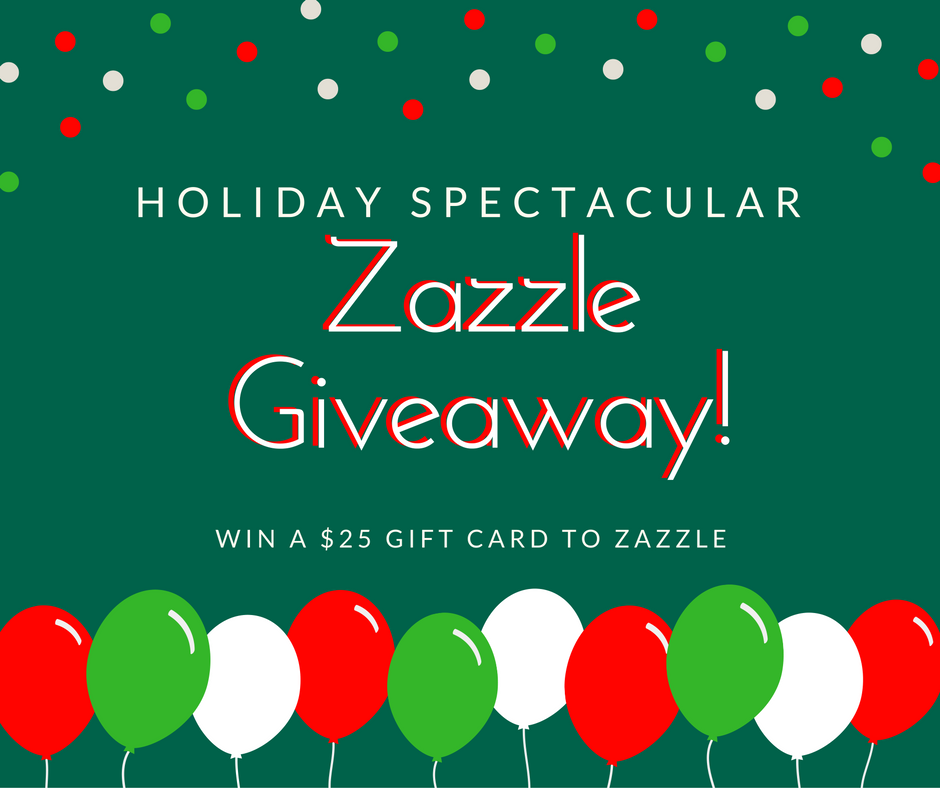 Holiday Zazzle Giveaway, Get a $25 Gift Card To Zazzle!