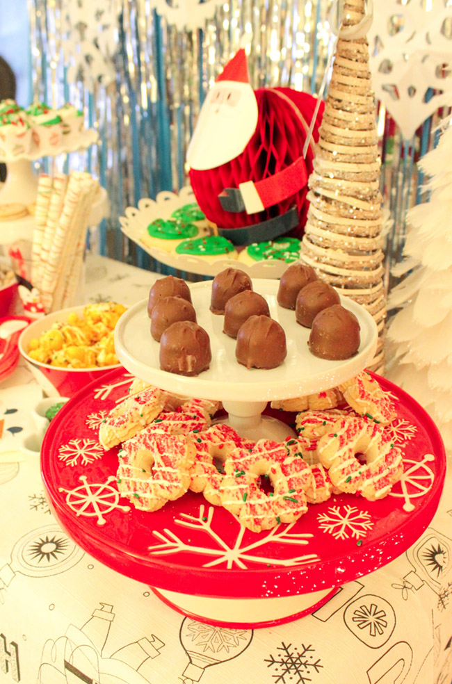 Winter Holiday Party Cookies - B. Lovely Events